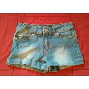 Pants - [Worn] Blue Jean Shorts